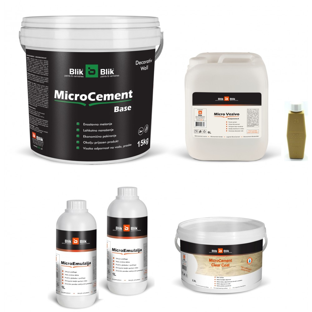 Microcement Base komplet