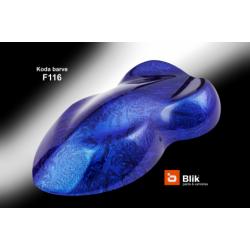FEF116 Indigo blue + Flash base