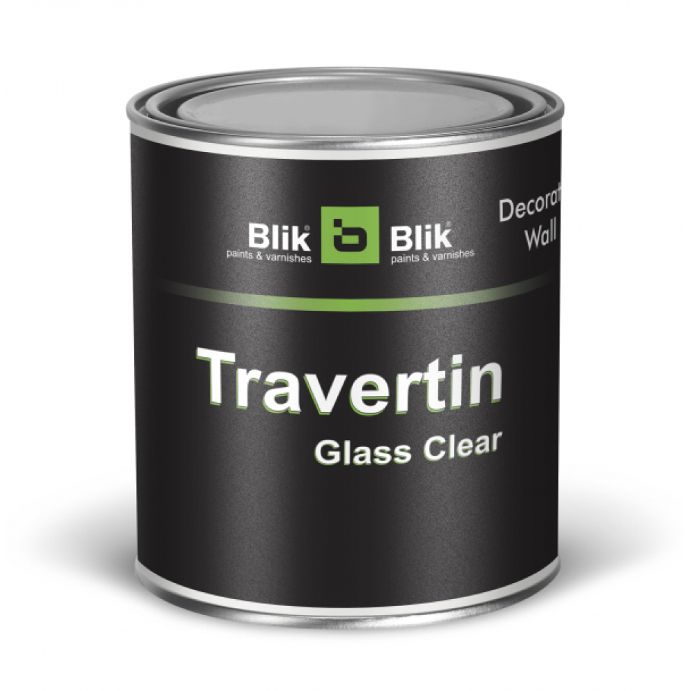 Travertin Glass Clear